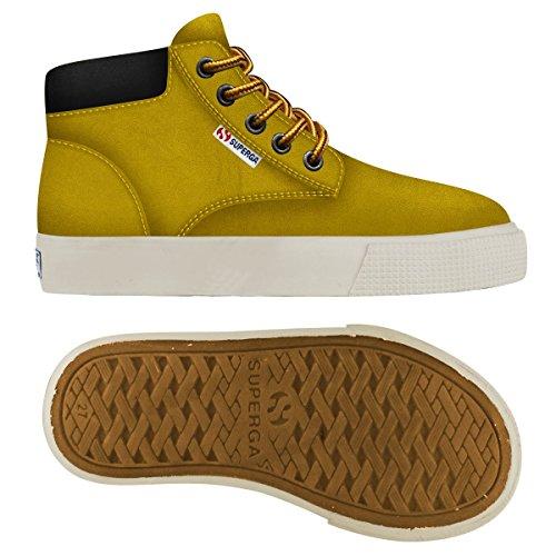 Sneakers - 2327-puj - Bambini Ocra Yellow