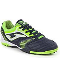 Joma - Zapatillas de Fútbol Sala de Material Sintético para Hombre Nero-Fluo Size: 43.5 zqZPfa4