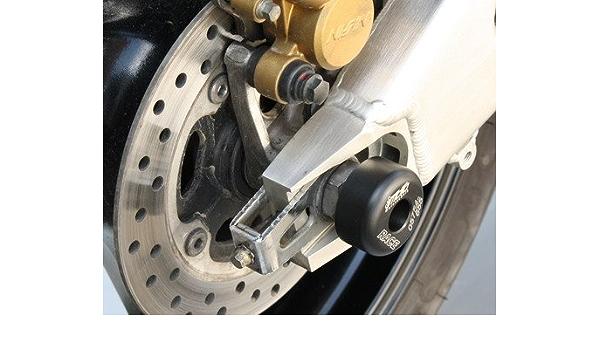 Satz Gsg Moto Sturzpads Hinterrad Passend Für Die Honda Cbr 600 Rr Pc37 03 04 Auto