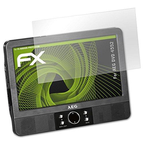 atFoliX Displayschutz für AEG DVD 4552 Spiegelfolie - FX-Mirror Folie mit Spiegeleffekt