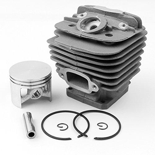 Haishine 48mm Zylinderkolbensatz für STIHL MS360 MS340 036 034 MS 340 360 Kettensägen-Motorteile # 11250201206