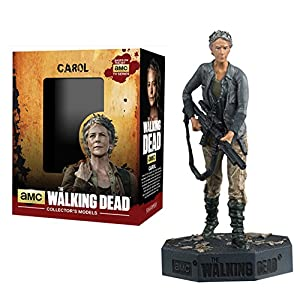Figura de plomo y resina The Walking Dead Collector's Models Nº 8 Carol 3