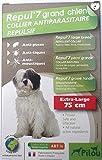 Halskette anti Parasiten für große Hunde, répul '7(Chips/Zecken/Mücken) x1rep7