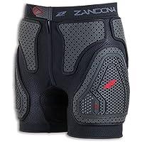 Zandonà Pantaloncino Protettivo Esatech Shorts Pro, Nero, L (Giro Bacino 94-101 cm)