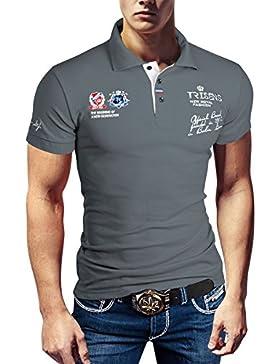 Polo Camiseta fina, de hombre, manga corta, de piqué