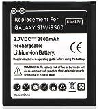 DONZO Akku für Samsung Galaxy S4 IV GT-I9500 / GT-I9505 LTE mit 2800 mAh