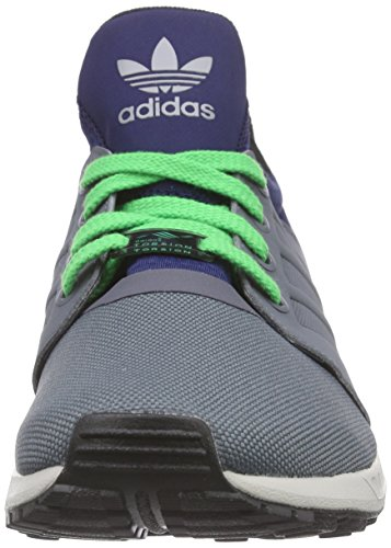 adidas Originals Zx Flux Nps Updt Herren Low-Top Grau (Onix/Onix/Dark Blue)