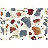 Alfombra moderna multicolor y Vivace – Alfombra de diseño Sitap – Dibujo a manchas Multicolor Capri 32278 – 6329