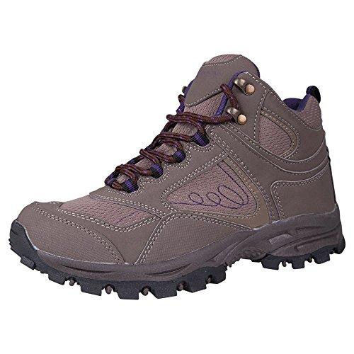 #Mountain Warehouse Mcleod wasserdichte Damenstiefel Wanderschuhe Wanderstiefel Bergsteifel sportlich bequem leicht Outdoor Wandern Trekking Braun 39#