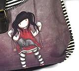 Santoro Eclectic - Gorjuss Wool Slouchy Bag - Ruby by Gor-juss Bild 1