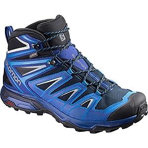 51wF3sZNfrL. SS300  - SALOMON Men's X Ultra 3 Mid GTX Climbing Shoes