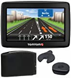TomTom Start 25 Central Europe Traffic Komfort Edition Navigationssystem (13 cm (5 Zoll) Display, TMC, IQ Routes, Kartenslot, Europa 19) schwarz