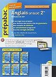 Image de Anglais 2de LV1 et LV2 - Prépabac Cours & entraînement: Cours, méthodes et exercices - Seconde