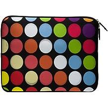 Funda Bolso en neopreno para iPad Mini - Círculos de Colores