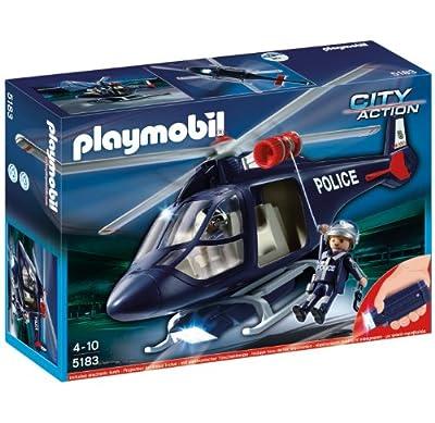 Helicóptero policía por Playmobil (5183)