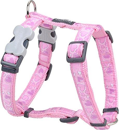 Red Dingo Designer Hundegeschirr, Design Breezy Love, 25mm x Halsumfang: 46-76cm / Körper 56-80cm Größe L -