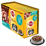 #3: Pedigree Gravy Adult Dog Food Chicken & Liver Chunks, 80 g (Pack of 15)