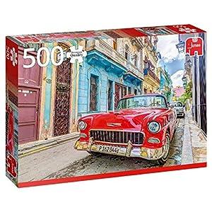 Premium Collection Havana, Cuba 500 pcs Puzzle - Rompecabezas (Cuba 500 pcs, Puzzle Rompecabezas, Vehículos, Niños y Adultos, Niño/niña, 12 año(s), Interior)