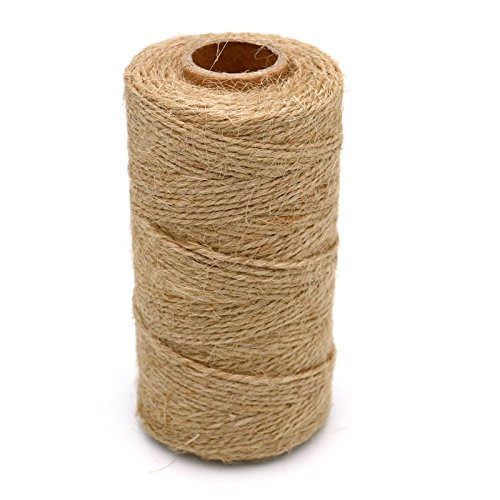 1 pcs 328 pies Natural Yute Twine mejor Arts Crafts
