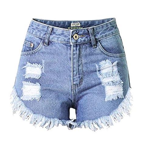 Etosell Femmes Retro Sexy De Taille Haute Jeans