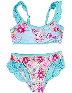 Disney Die Eiskönigin Elsa & Anna Mädchen Bikini - pink