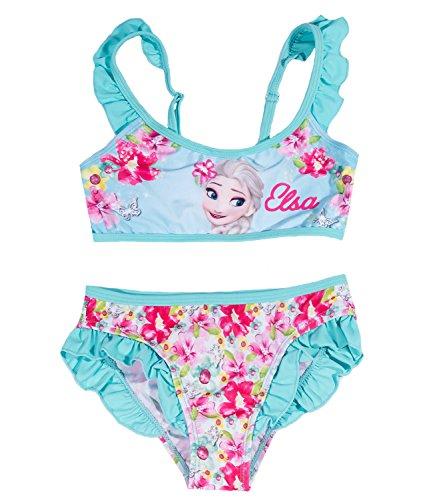 Disney Die Eiskönigin Elsa & Anna Mädchen Bikini - türkis - 140