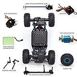 Gamzoo Rock Crawler Radio Control RC Vehicle 1:18 Scale Toy Truck100M 4WD 4X4