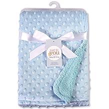 Harson&Jane Suave forro polar unisex Baby Bubble Wrap Swaddle Blanket Albornoz pañales para bebé recién nacido 76 x 102cm