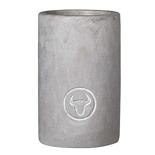 Räder - PeT Grill GUT - Flaschenkühler - Stier - Beton Ø 9,5 Höhe 14,5cm