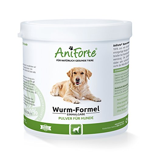 AniForte Wurm-Formel 250 g- Naturprodukt für Hunde