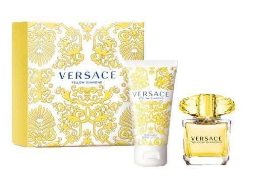 Versace Yellow Diamond 30ml EDT Spray / Perfumed Body Lotion 50ml