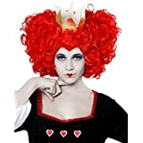 Angel Tomas S.A. - Peluca rizada reina Fantasia, color rojo