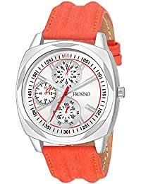 Frosino FRAC061805 Analog Frosting Silver dial Watch for Men