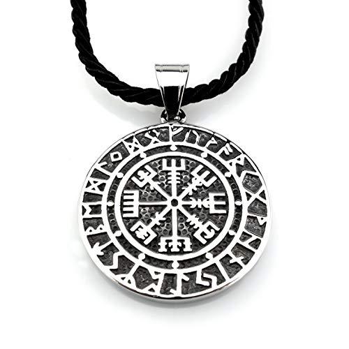 Zinn Anhänger 99 Wikinger Kompass