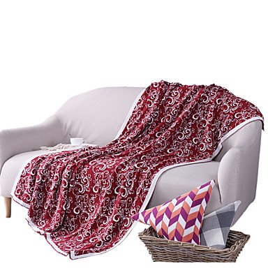 WANGAIMA knittedsolid Massive 100{f6d26a7412825b9af46e5b3ddc624e9eaf9a1c8e92054905b78966df61c46f15} Baumwolle Decken 120* 160cm