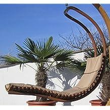 DESIGN Hängeliege NAVASSA SEAT Aus Holz Lärche / Metall Mit Auflage (OHNE  Gestell)