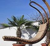 DESIGN Schwebeliege Hängeliege Hängesessel aus Holz Lärche Modell: 'NAVASSA-SEAT' Mit Auflage (ohne Gestell) von AS-S thumbnail