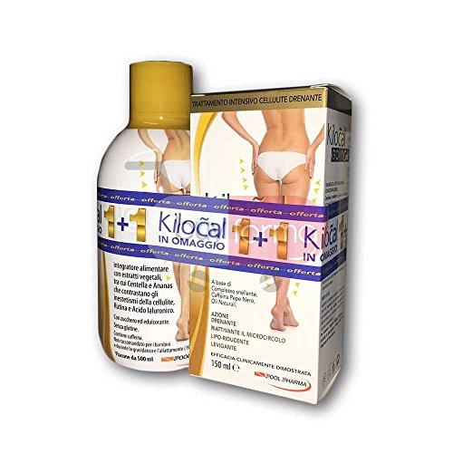 Promozione Kilocal GoldCell - Integratore da 500ml + Trattamento Drenante Cellulite da...