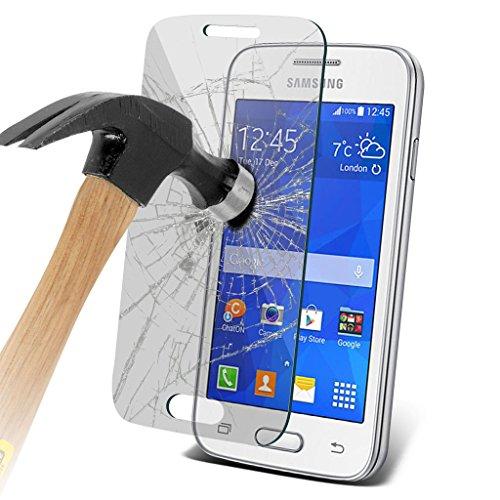 Samsung Galaxy S5 Neo hülle Tasche (Grün + Kopfhörer) Slim-Fit-Abdeckung für Samsung-Galaxie-S5 Neo-hülle Tasche Haltbarer S Linie Wellen-Gel-Kasten-Haut-Abdeckung + mit Aluminium Earbud Kopfhörer, Po Tempered + Glass (3 Pack)