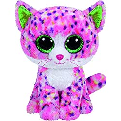 TY - Beanie Boos Sophie, gato, 15 cm, color rosa (United Labels Ibérica 36189TY)