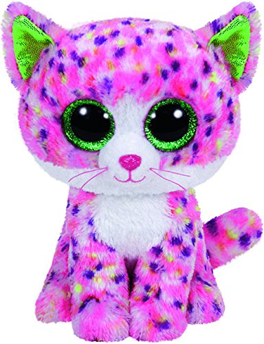 TY - Beanie Boos Sophie, gato, 15 cm, color rosa (United Labels Ibéri