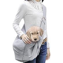 Poppypet Transporttasche für kleine Hunde und Katzen, hundetaschen für kleine hunde, tragetasche katze, Oxford Tuch Single-Schulter Sling, Gre