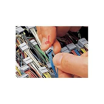 Wago Micro Dosenklemme 4 x 0,6-0,8 qmm, 100 Stück, grau, 243-204