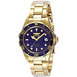 Invicta 8937 Pro Diver Reloj Unisex acero inoxidable Cuarzo Esfera azul
