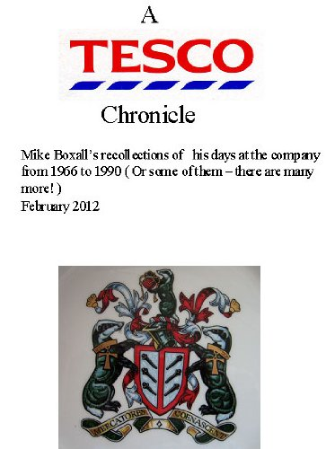 a-tesco-chronicle-english-edition