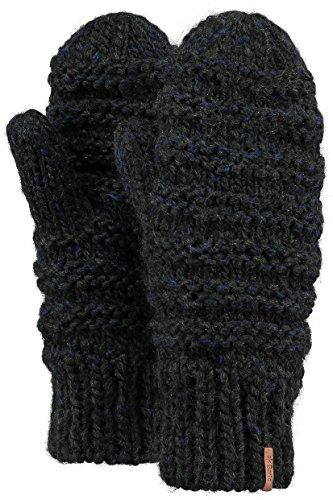 Barts Jasmin Mitts Gloves Dark Heather (Heather Mitts)