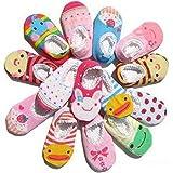 Lot de 10?bébé filles infantile Ballet Ballerine Chaussettes Packs antidérapant, courte