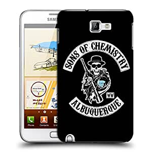 Snoogg Sons Of Chemistry Designer Protective Back Case Cover For Samsung Galaxy Note 1