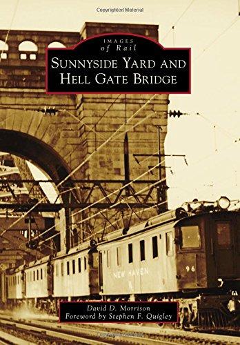 Penn Station New York New York (Sunnyside Yard and Hell Gate Bridge (Images of Rail))