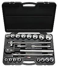 KS Tools 911.0722 Jeu de douilles 3/10,2 cm, 21 pcs